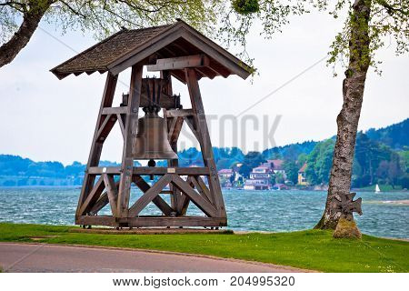 Bell By The Tegernsee Lake In Rottach Egern