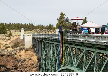 Bungee Jumping In Oregon