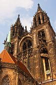 The Towers of the Cathedral of Meissen in Germany poster