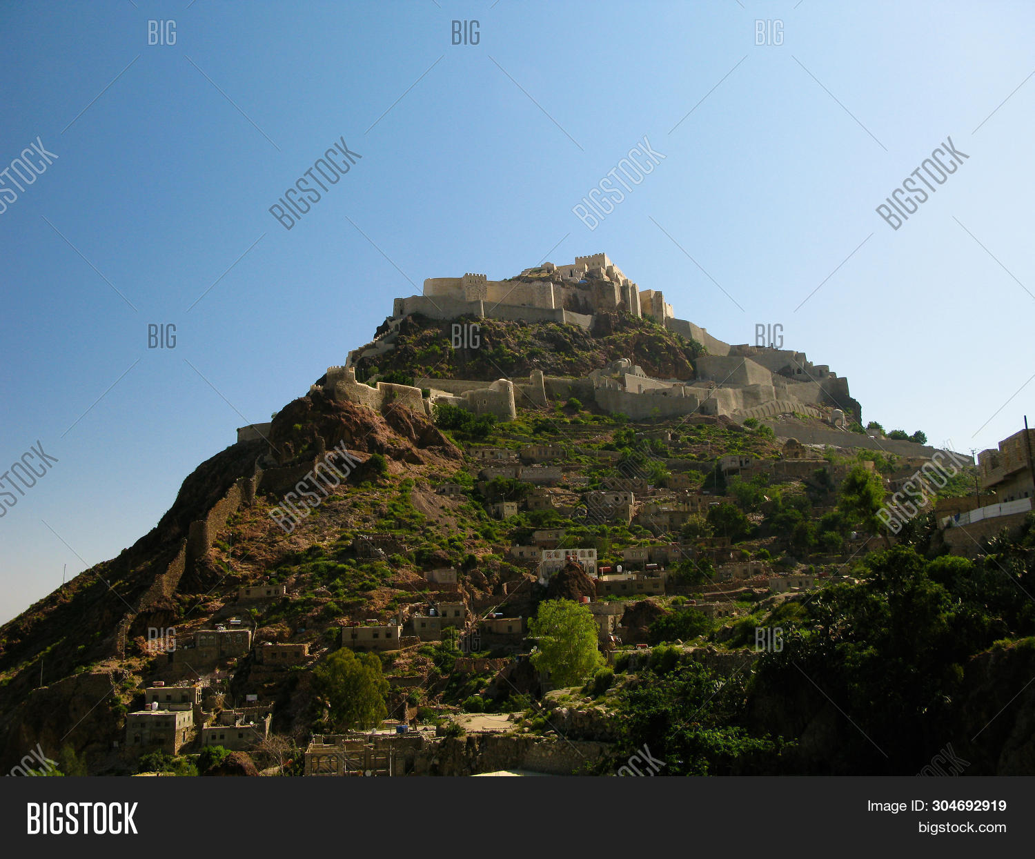 Cairos Fortress on a Mountain