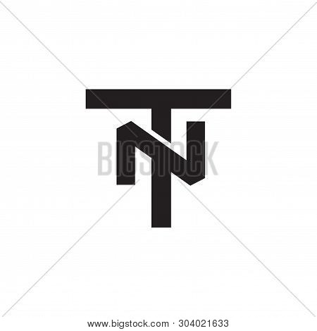 Tn Letter Initial Logo Vector Element. Initial Logo Template