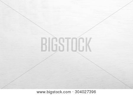 White Wooden Wall Texture Background.