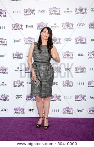 LOS ANGELES - FEB 25:  Julia Ormond arrives at the 2012 Film Independent Spirit Awards at the Beach on February 25, 2012 in Santa Monica, CA