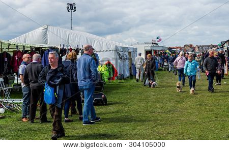 Llandudno, Uk - May 6, 2019: The Llandudno Transport Festival 2019 Saw A Large Turnout Of Visitors W