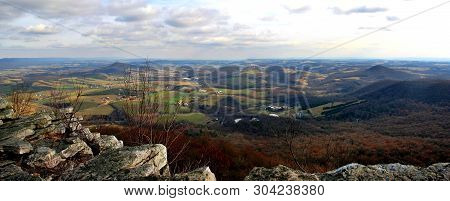 View From The Pinnacle, Berks County, Pennsylvania