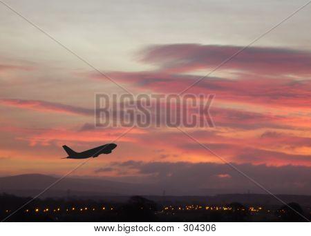 Sunrise Airplane 1