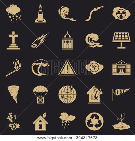 Complaint Icons Set. Simple Set Of 25 Complaint Vector Icons For Web For Any Design