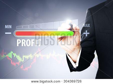 Profit And Hud Concept