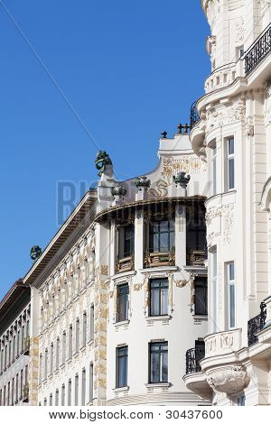 Architecture Art Nouveau By Otto Wagner, Vienna