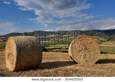 Image Of The Sicilian Countryside, Colse Modica.