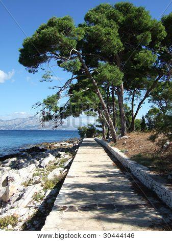 Croatia Brac island Supetar