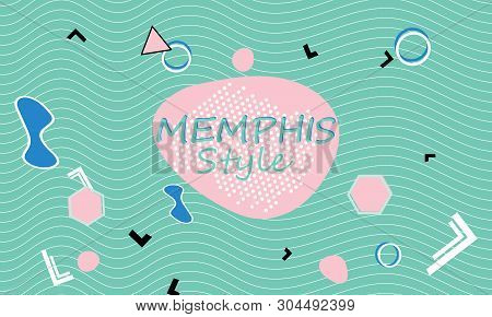 Memphis  90s Pattern Vector & Photo (Free Trial) | Bigstock