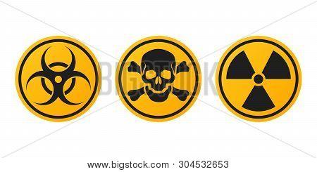 Set Danger Signs Vector & Photo (Free Trial)   Bigstock