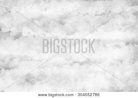 Abstract Grainy Black And White Color For Background, Illustration Design To Create Grunge Vintage E