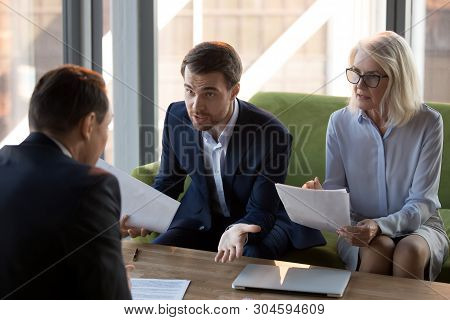 Mad Businessman Dispute With Business Partner Over Agreement