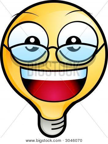 Lighting Bulb Icon - Eyeglasses