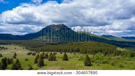 mont dore, french auvergne landscape