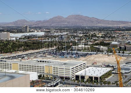 A Scenic View Of Residential Las Vegas Nevada