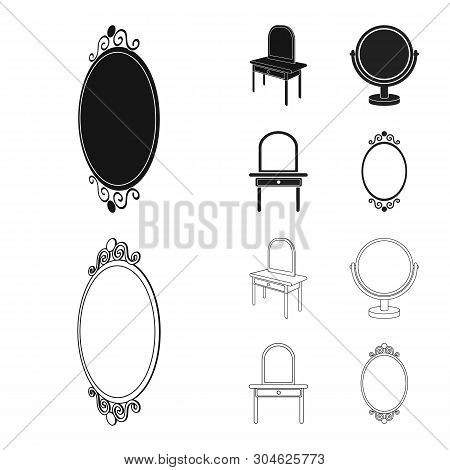Isolated Object Of Imagery And Decorative Icon. Set Of Imagery And Silver Stock Symbol For Web.