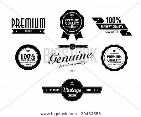 Special Vintage Sticker Vith Premium Quality Text
