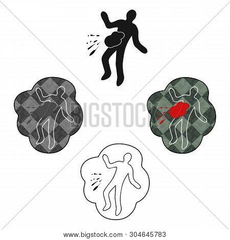 Stock Vector Crime Scene Body Outline Images, Illustrations