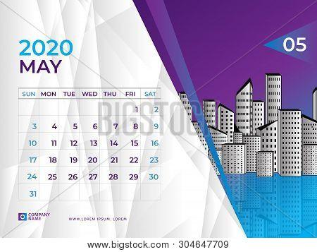 May 2020 Calendar Vector & Photo (Free Trial) | Bigstock