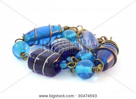 Bracelet Handmade From Murano Glass