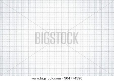 Gray Background In A Small Cell. Tile, Mosaic. Vector Modern Background For Posters, Brochures, Site