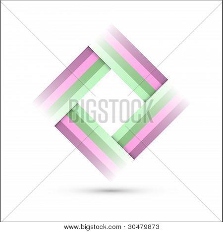 Colored Rectangle Symbol
