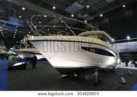 Cnr Eurasia Boat Show In Istanbul