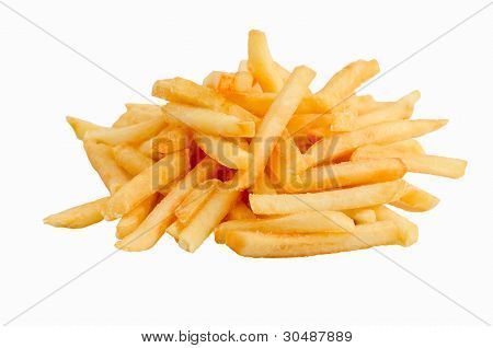 a heap of french fries