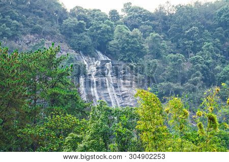 Siriphum Waterfall At Doi Inthanon National Park, Chiang Mai, Thailand.