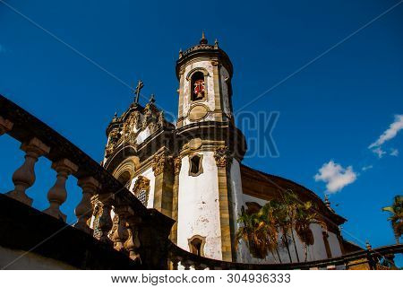 Sao Joao Del Rei, Minas Gerais, Brazil: Sao Francisco De Assis Church, One Of The Main Church Of Rur