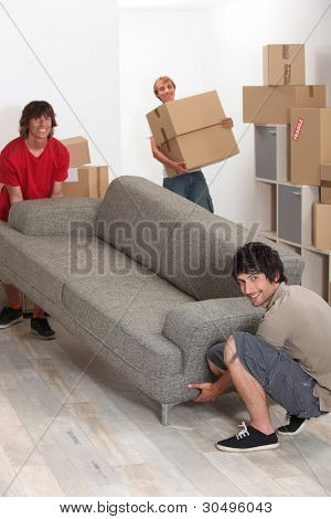 University students moving in together