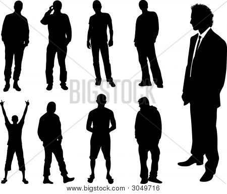 Man Silhouette Images Illustrations Vectors Free Bigstock Silhouette of man, bench, and bare tree. man silhouette images illustrations