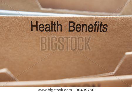 Benefícios de seguro de saúde