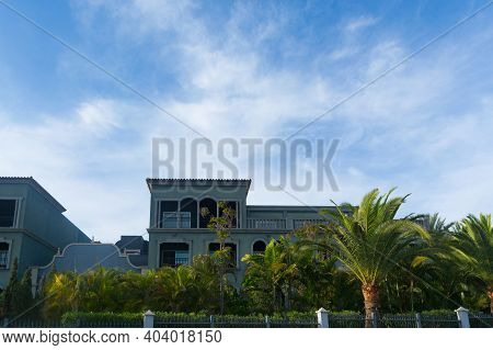 Luxury Hotel In Gran Canaria, Spain. Famous Luxury Hotel In Gran Canaria, Spain