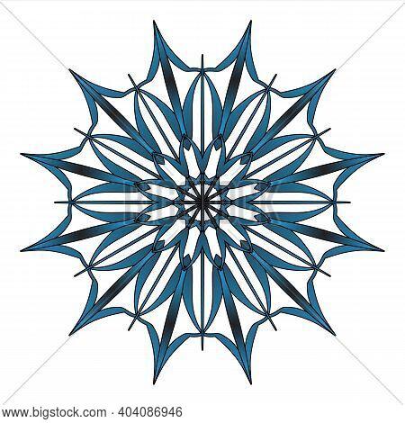 Snowflake Sign Winter Symbol Graphic Design Template. Jpeg Flake Of Snow Icon Isolated Flat Illustra
