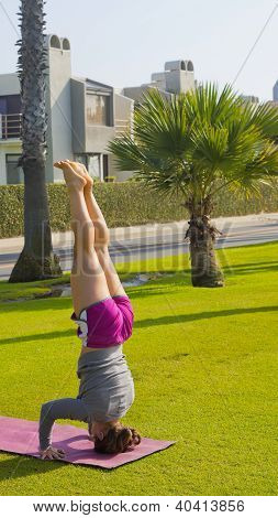 Supported Headstand Salamba Sirsasana