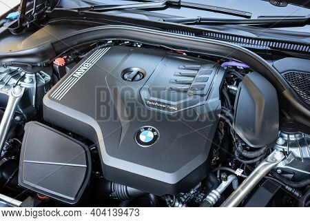Bmw The5 2020 Engine