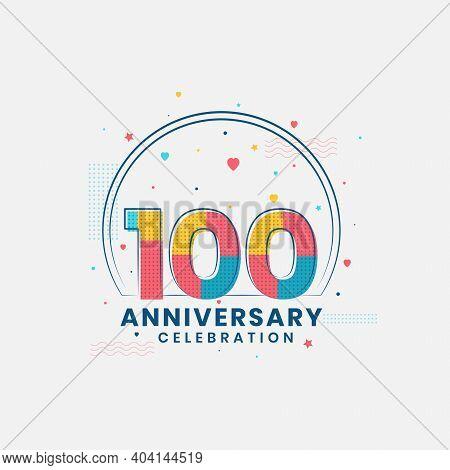 100 Years Anniversary Celebration, Modern 100th Anniversary Design