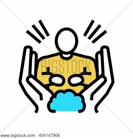 Hope People Value Color Icon Vector. Hope People Value Sign. Isolated Symbol Illustration