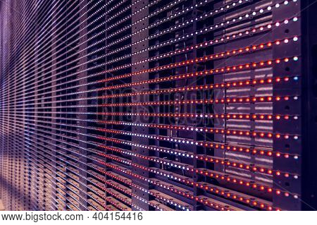 Led Outdoor Media Facade, Digital Signage Screen. Exterior Facade Light, Wall Led Pixels Light, Arch