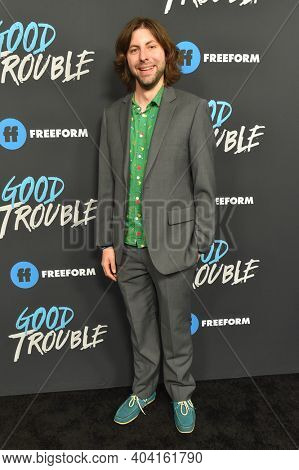 LOS ANGELES - JAN 08:  Actor Max Cutler arrives for Freeform's