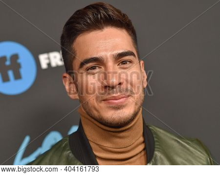 LOS ANGELES - JAN 08:  Actor Michael Galante arrives for Freeform's