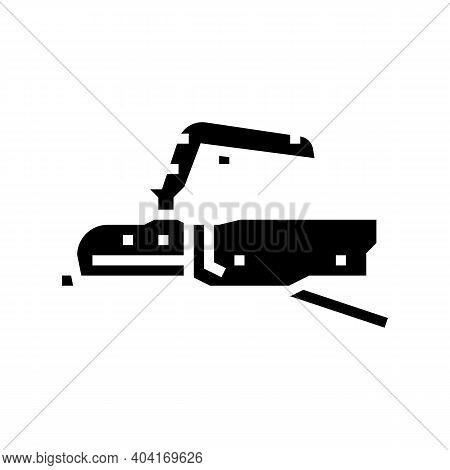 Coupling Mechanism Trailer Glyph Icon Vector. Coupling Mechanism Trailer Sign. Isolated Contour Symb