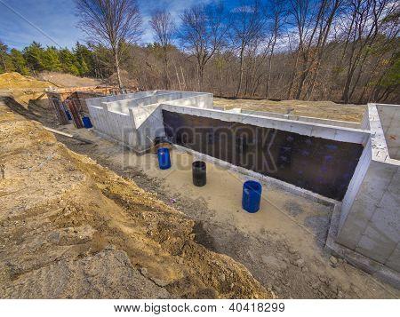 New foundation construction