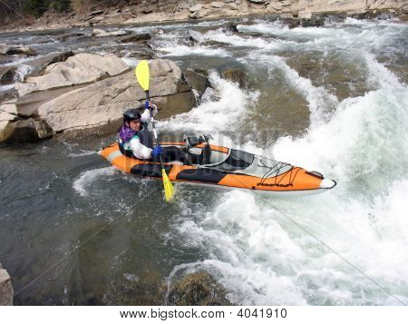 Whitewater Rafter