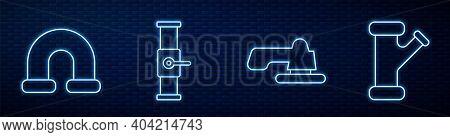 Set Line Water Tap, Industry Metallic Pipe, Industry Pipe And Valve And Industry Metallic Pipe. Glow