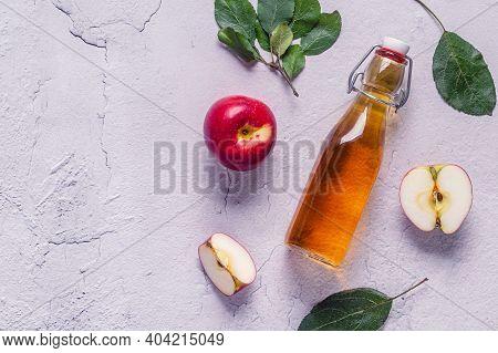 Apple Cider Vinegar Or Fermented Fruit Drink